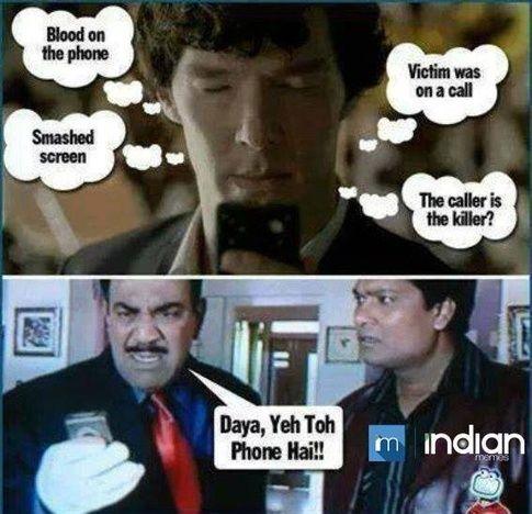 CID Vs Sherlock Holmes
