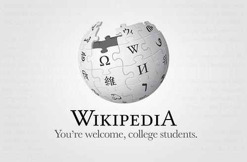 Wikipedia Honest Slogan