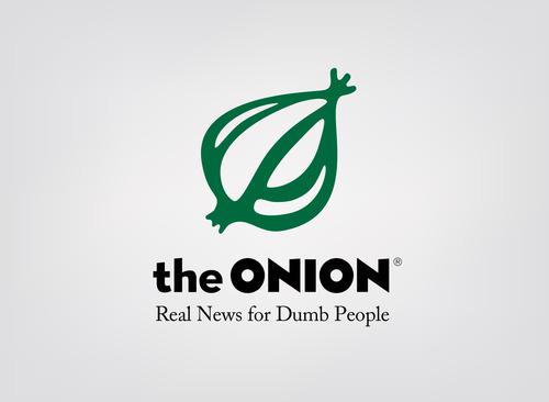 honest slogan of the onion