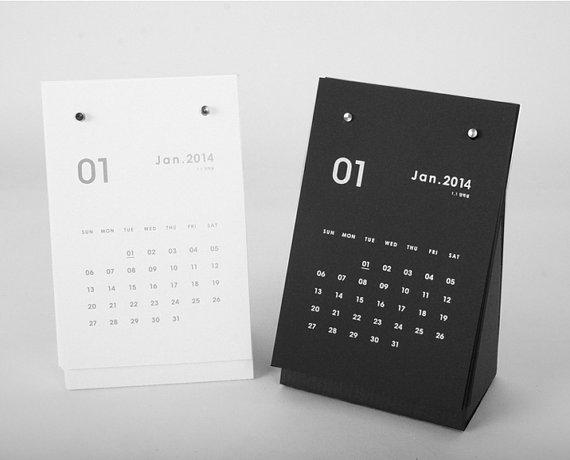 5 Beautiful Handmade Printed Calendars For 2014