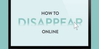 disappear online in 9 steps