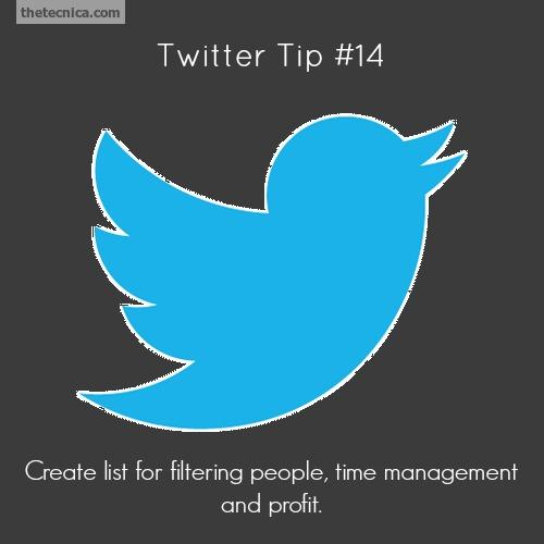 Twitter tip 14
