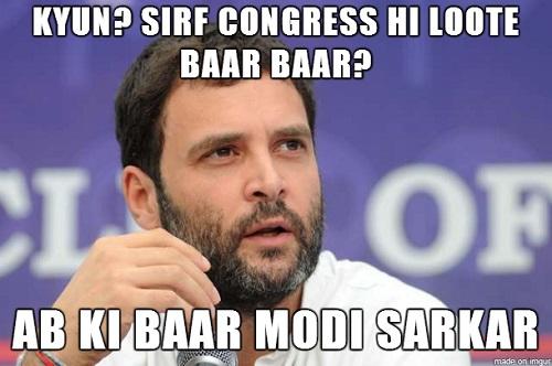 Rahul Gandhi - Abki Baar Modi Sarkar
