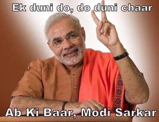 narendra modi- Abki Baar Modi Sarkar
