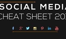 Social Media cheat sheet 2014