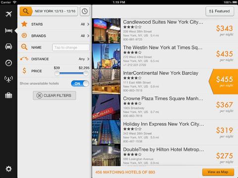 Kayak app 1