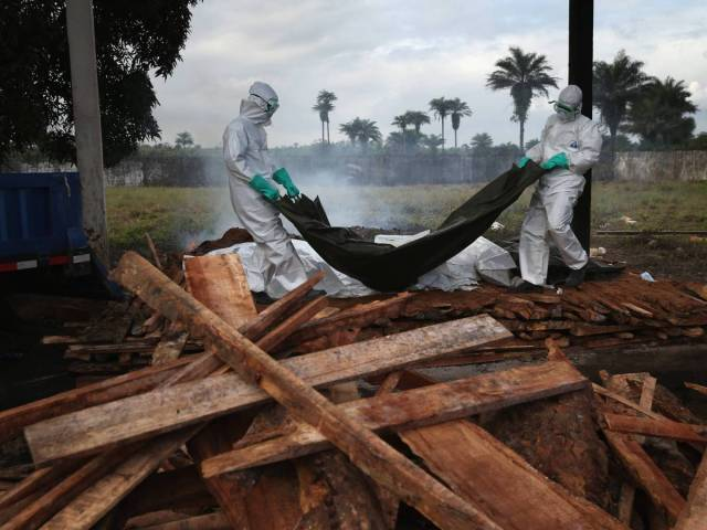 Ebola Crisis In Pictures