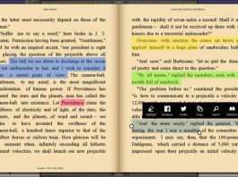 Bookviser windows app for book reading on PC phone