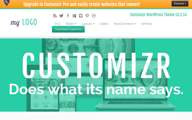 Customizr Business Theme