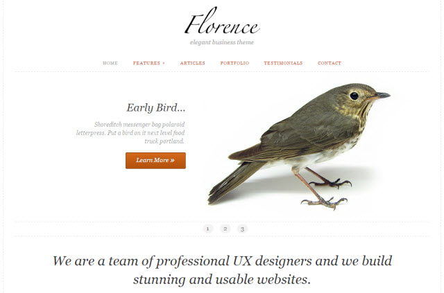 Florence Business Theme