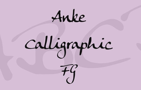 handwriting-fonts-ankecalligraphic