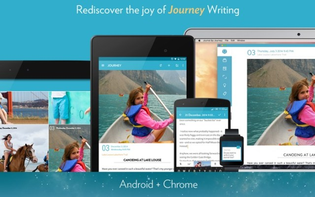 journal android app material designed