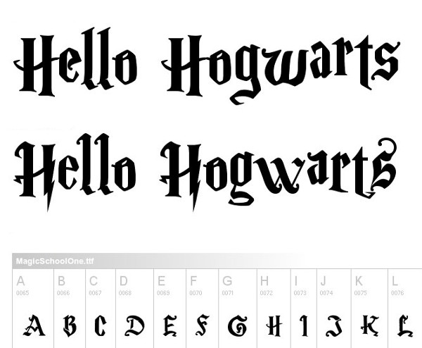 monogram-fonts-magicschool