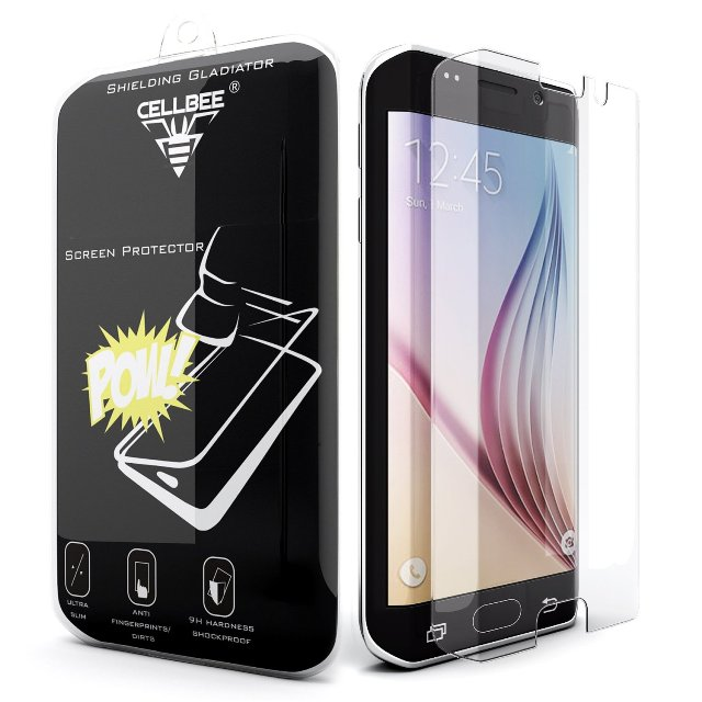 CellBee Galaxy S6 Edge Screen Protector