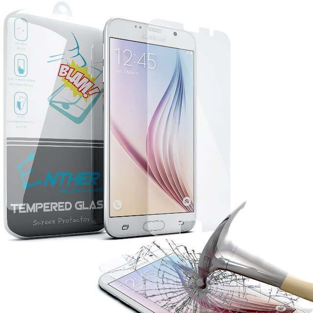 Enther Galaxy S6 Screen Protector