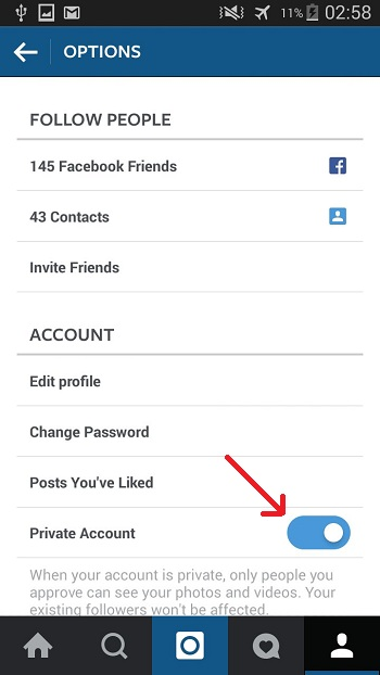 Keeping Your Instagram Account Private