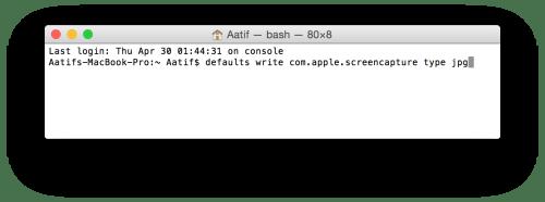 terminal_change type