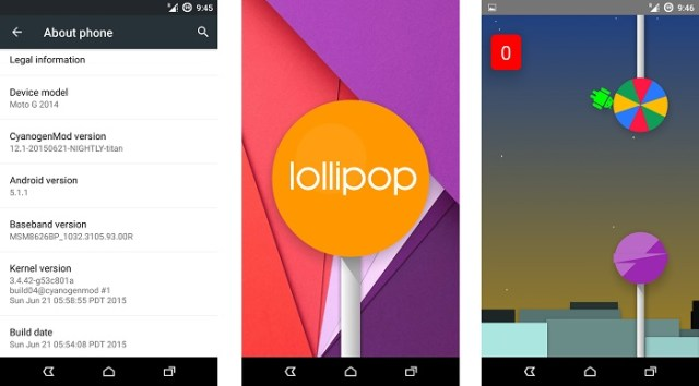 Flappy Android - Android Lollipop Tricks