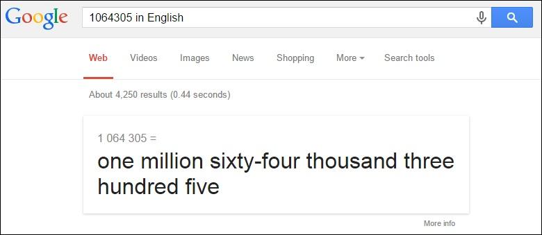 Преобразовать числа в слова