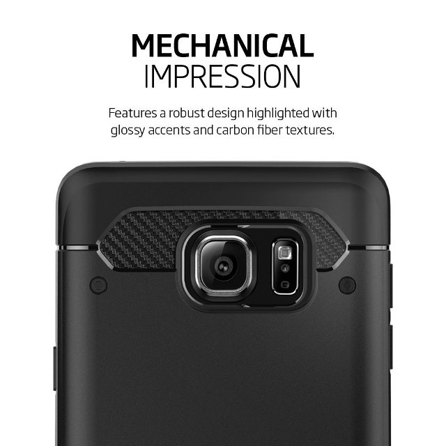 Spigen Rugged Armor Galaxy Note 5 Case