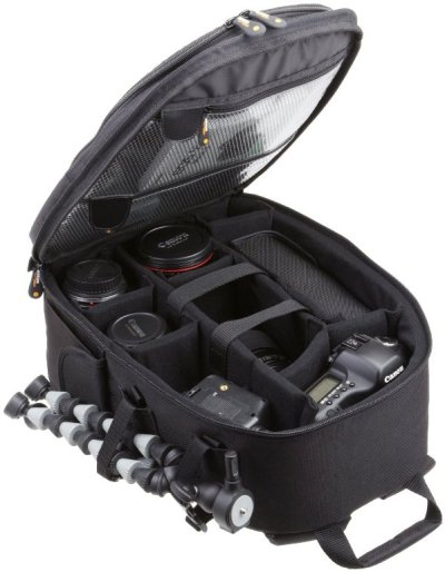 AmazonBasics Backpack for SLR DSLR Cameras Accessories