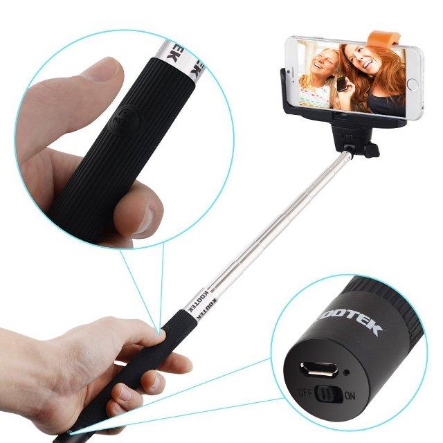 Kootek Bluetooth Monopod Selfie Stick