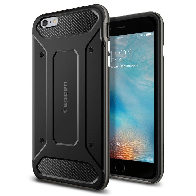Spigen Gunmetal iPhone 6s Plus Bumper Case