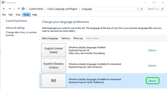 how to use c language in windows 10