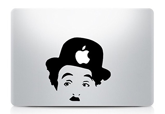 Charlie Chaplin Macbook Decal Sticker