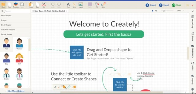creately is the last web based tool in our list of best visio alternatives for mac and for good measure while its pretty useful for a quick flow chart or - Visio Like Program For Mac
