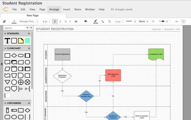 lucidchart is one of the most favoured choices not just for mac systems but pretty much any platform since this capable diagramming tool is web based and - Visio Like Program For Mac
