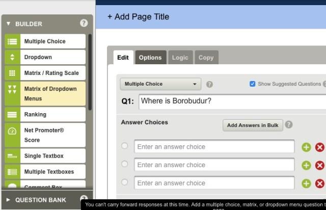 Online Quiz -bb- 11 - SurveyMonkeys
