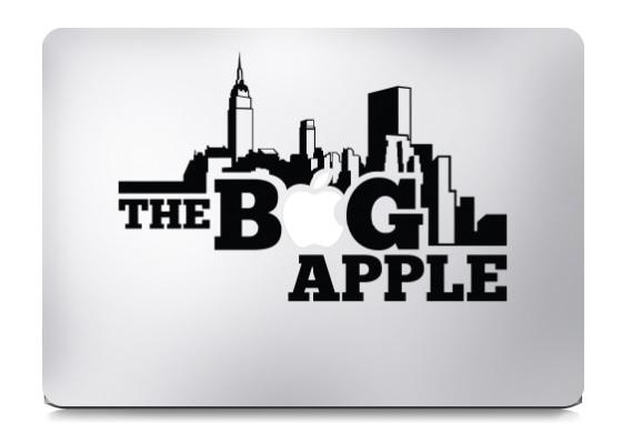 The Big Apple Macbook Decal Sticker