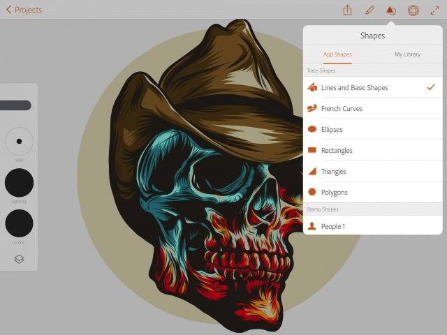 iPad Drawing Apps -bb- 09 - Illustrator Draw