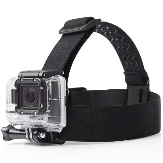 AmazonBasics Head Strap GoPro Mount