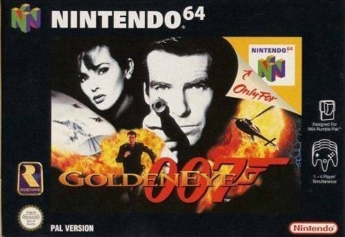Goldeneye - лучшие игры для Nintendo 64