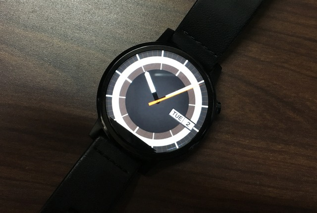 70s watch face