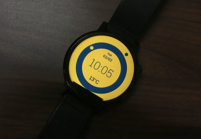 DressWatch watch face