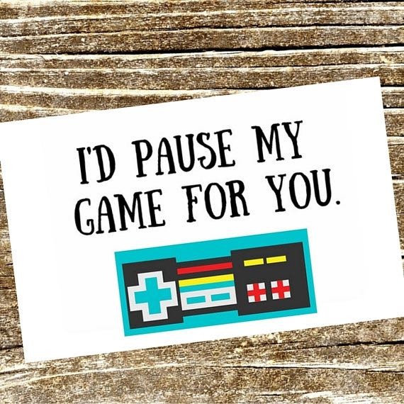 Game Controller Geeky Valentines Day Card 1