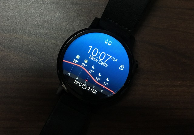 InstaWeather watch face