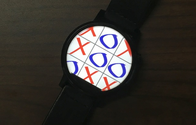 Tic Tac Toe Android Wear