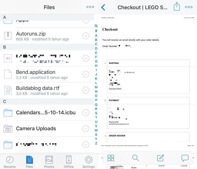 Business App -bb- Dropbox