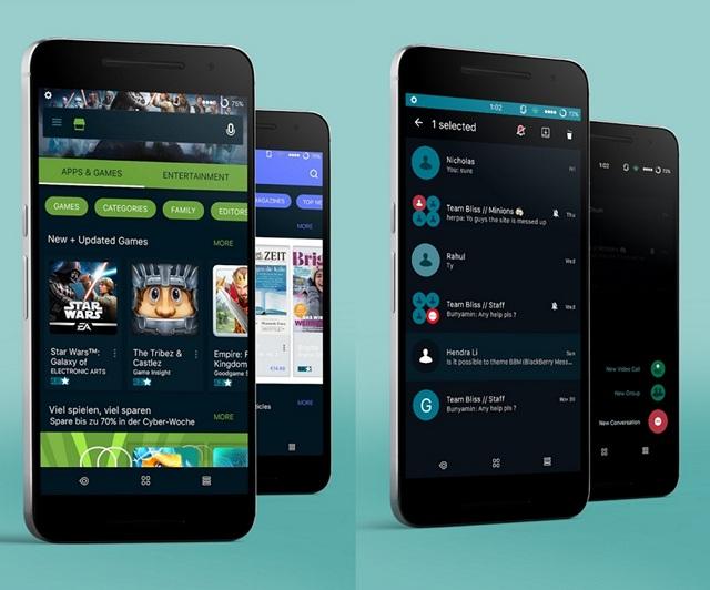 Deep Darkness CyanogenMod theme