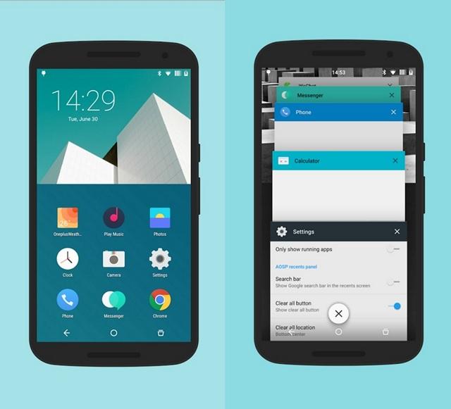 H2OS CyanogenMod theme