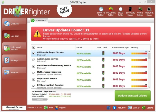 Driver Fighter