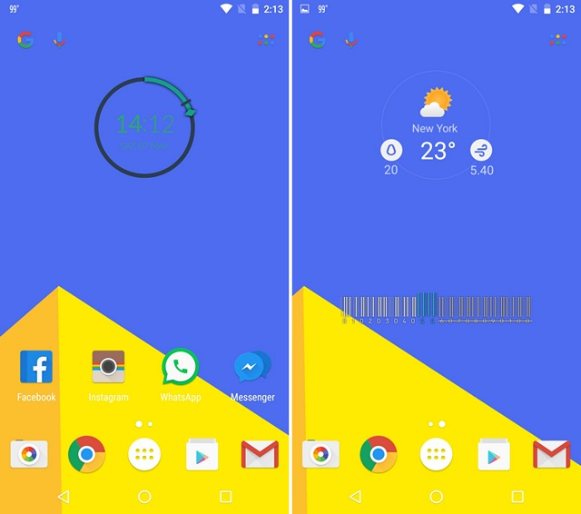 Material Design Nova Launcher Theme