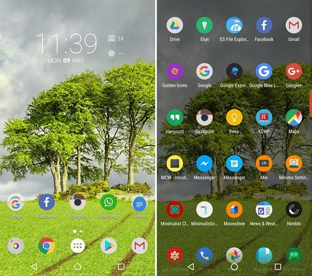 Nature Nova Launcher Theme