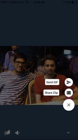 Motion Stills compartir GIF