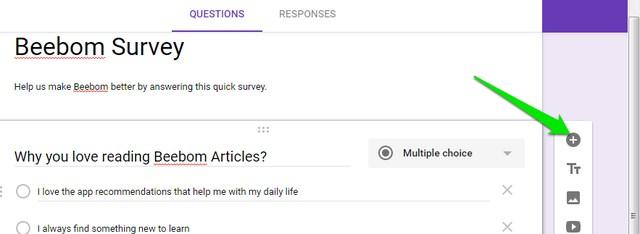 Add-question