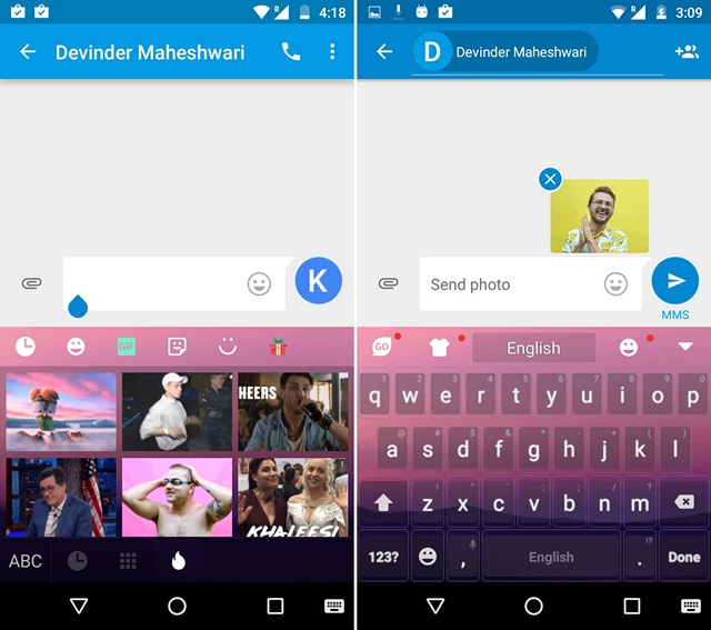 Go GIF Keyboard Android
